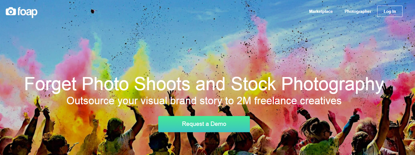 Foap is a Photography Selling Platform
