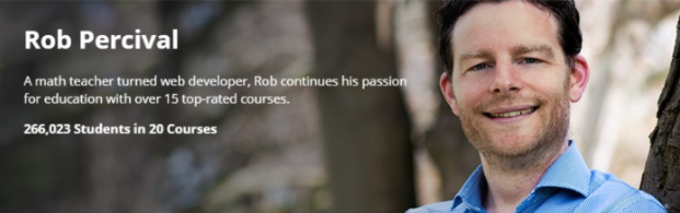 Rob Percival has earned over $2 million dollars selling on Udemy